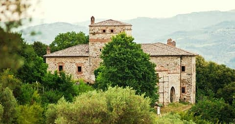 Torri di Bagnara - Castello della Pieve